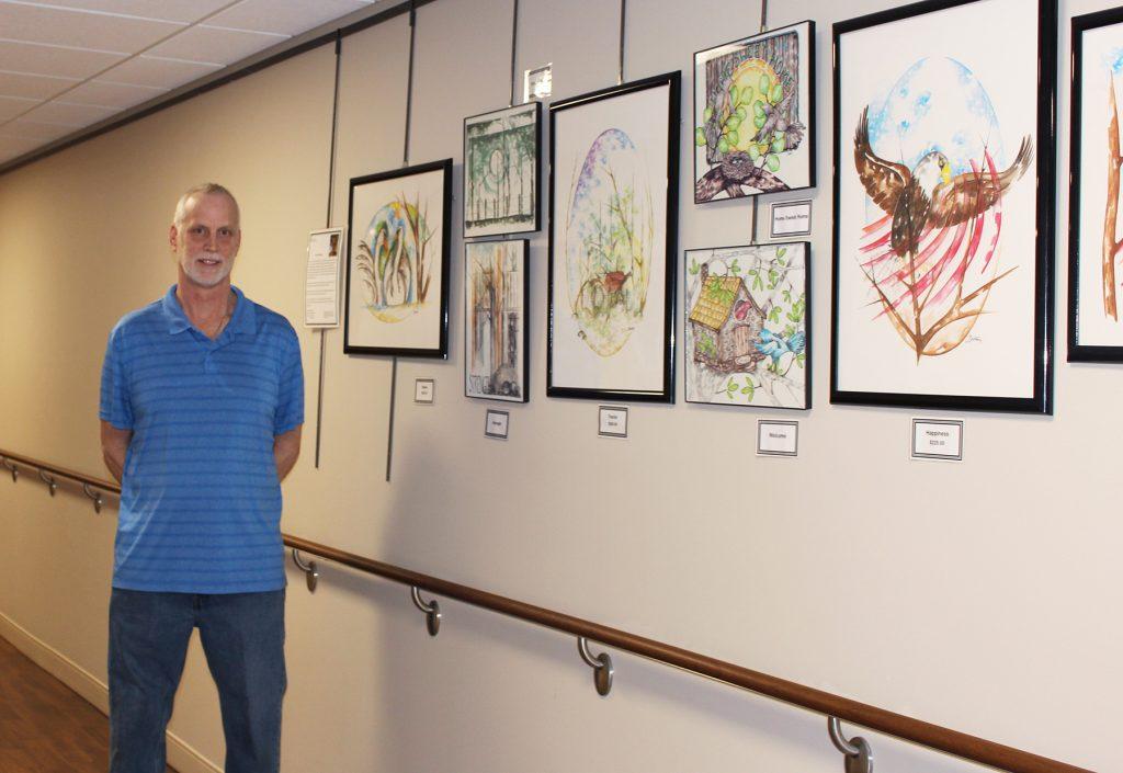 New Artist at BVRMC Boyd Zimmer
